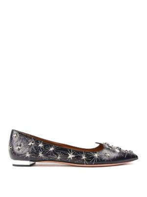 Aquazzura: flat shoes - Cosmic Star flats