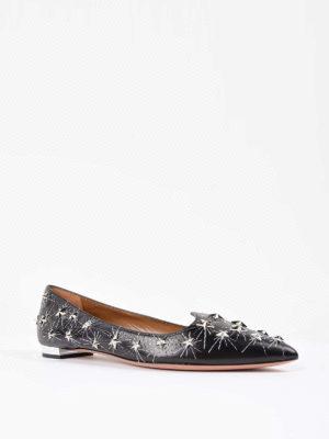 Aquazzura: flat shoes online - Cosmic Star flats