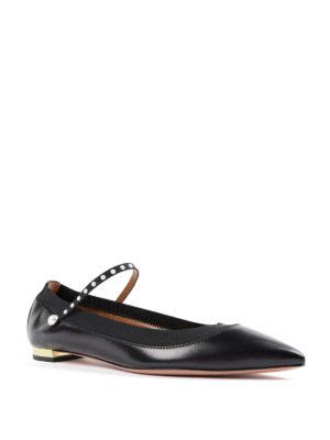 Aquazzura: flat shoes online - Nolita pointy toe flats