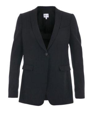 Armani Collezioni: blazers - One button shawl collar blazer