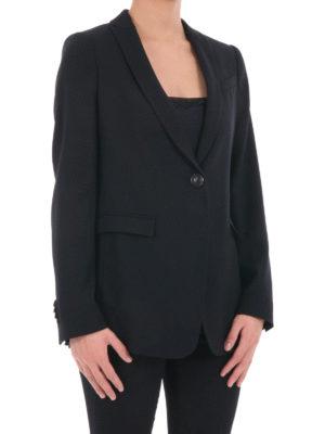 Armani Collezioni: blazers online - One button shawl collar blazer