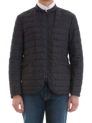 Armani Collezioni: casual jackets online - Quilted nylon casual jacket