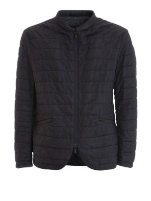 Armani Collezioni: casual jackets - Quilted nylon casual jacket