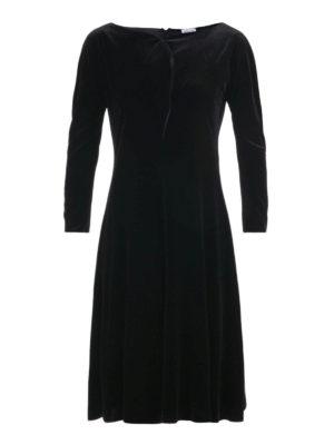 Armani Collezioni: cocktail dresses - Boat neck chenille dress