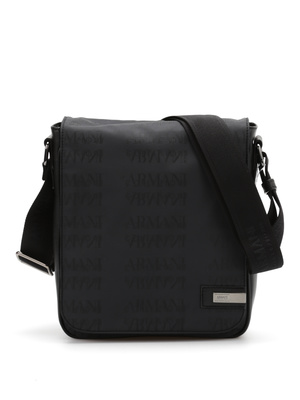 Armani Collezioni: cross body bags - Monogram messenger bag