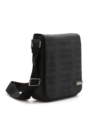 Armani Collezioni: cross body bags online - Monogram messenger bag