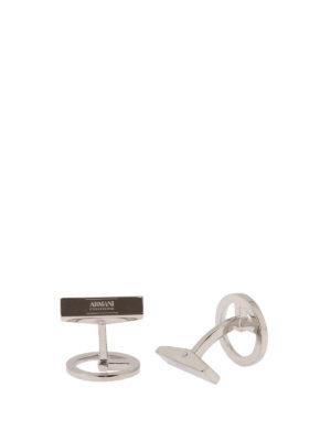 Armani Collezioni: Cufflinks online - Logo cufflinks