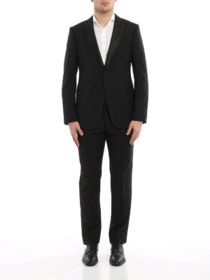 Armani Collezioni: dinner suits online - Peak lapels wool tuxedo