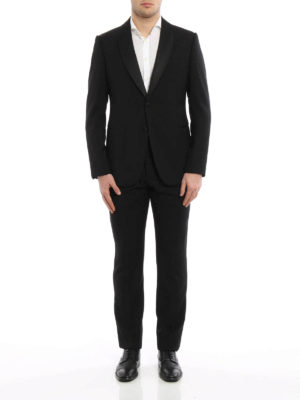Armani Collezioni: dinner suits online - Shawl lapels wool tuxedo