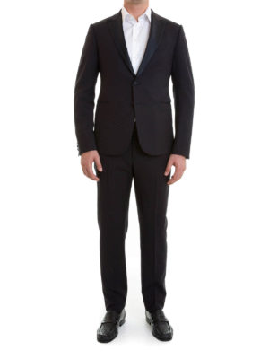 Armani Collezioni: dinner suits online - Slim fit M line wool tuxedo