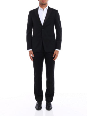 Armani Collezioni: dinner suits online - Virgin wool tuxedo suit