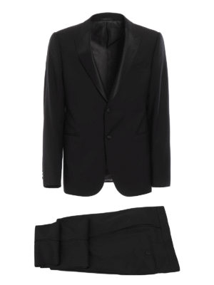 Armani Collezioni: dinner suits - Peak lapels wool tuxedo