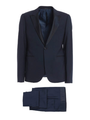 Armani Collezioni: dinner suits - Peaked lapels detailed wool tuxedo