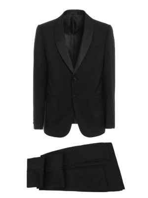 Armani Collezioni: dinner suits - Shawl lapels wool tuxedo