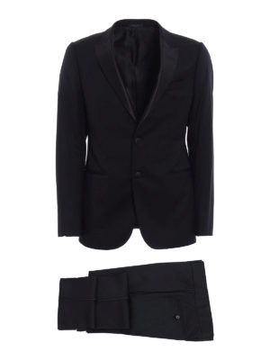Armani Collezioni: dinner suits - Virgin wool tuxedo suit