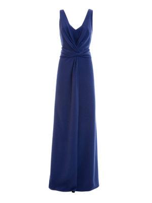 Armani Collezioni: evening dresses - Draped long dress
