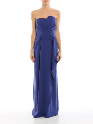 Armani Collezioni: evening dresses online - Draped evening dress