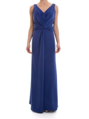Armani Collezioni: evening dresses online - Draped long dress
