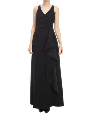 Armani Collezioni: evening dresses online - Ruched cady dress