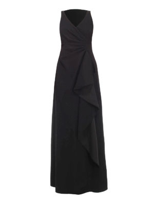 Armani Collezioni: evening dresses - Ruched cady dress