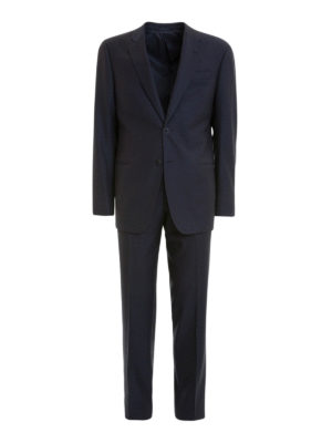 Armani Collezioni: formal suits - G line wool jacquard suit