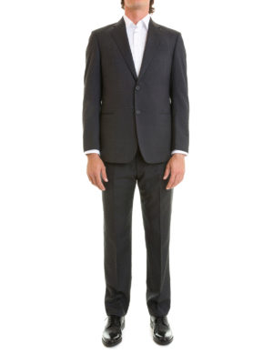 Armani Collezioni: formal suits online - G-Line lined wool formal suit