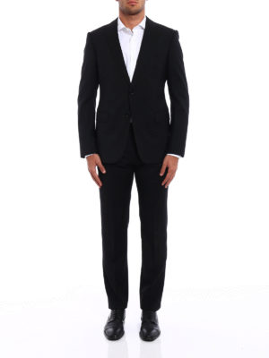 Armani Collezioni: formal suits online - Light virgin wool formal suit