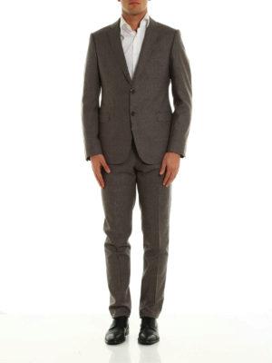 Armani Collezioni: formal suits online - Virgin wool classic suit