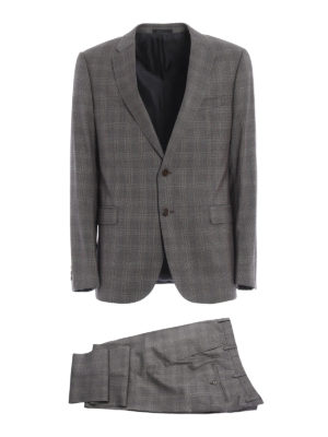 Armani Collezioni: formal suits - Prince of Wales wool suit
