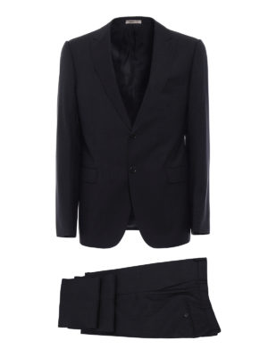 Armani Collezioni: formal suits - Virgin wool two-piece suit