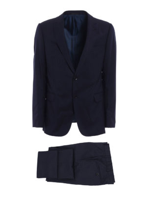 Armani Collezioni: formal suits - Wool jacquard formal suit