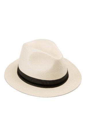 Armani Collezioni: hats & caps - Straw Panama hat