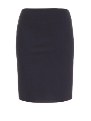 Armani Collezioni: Knee length skirts & Midi - Jersey pencil knee length skirt