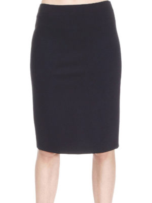 Armani Collezioni: Knee length skirts & Midi online - Jersey pencil knee length skirt