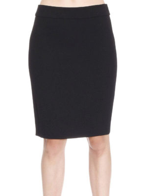 Armani Collezioni: Knee length skirts & Midi online - Wool pencil skirt