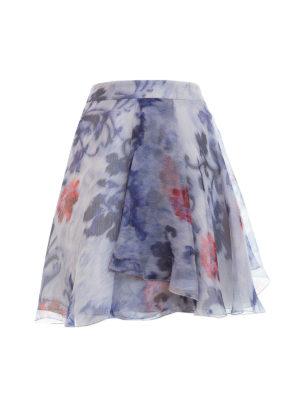 Armani Collezioni: mini skirts - Chiffon short skirt