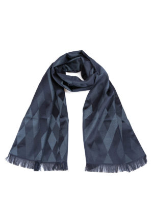 Armani Collezioni: scarves - Diamond patterned scarf