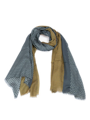 Armani Collezioni: scarves - Geometric patterned scarf