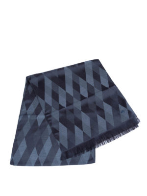 Armani Collezioni: scarves online - Diamond patterned scarf