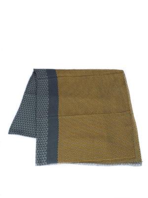 Armani Collezioni: scarves online - Geometric patterned scarf