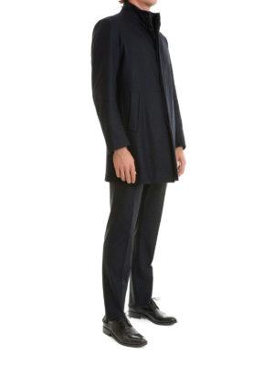 Armani Collezioni: short coats online - Detachable padded inner short coat