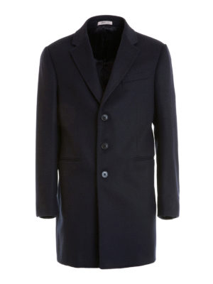 Armani Collezioni: short coats - T Line cashmere and wool short coat