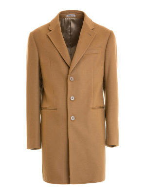 Armani Collezioni: short coats - T Line wool and cashmere short coat