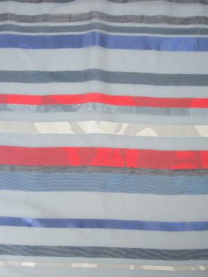 Armani Collezioni: Stoles & Shawls online - Striped silk blend chiffon stole