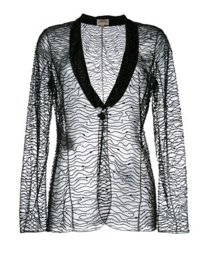 Armani Collezioni: Tailored & Dinner - Bead and sequin embellished blazer