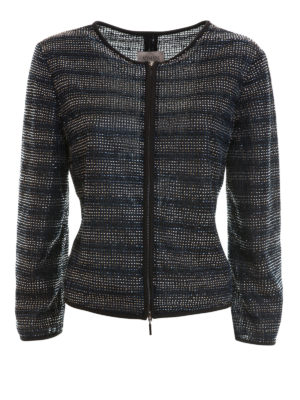Armani Collezioni: Tailored & Dinner - Bead embellished textured jacket