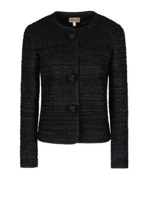 Armani Collezioni: Tailored & Dinner - Maxi buttons jacquard jacket