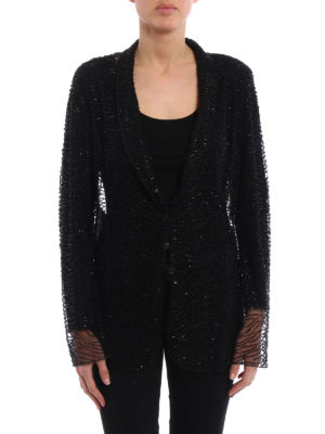 Armani Collezioni: Tailored & Dinner online - Bead and sequin embellished blazer