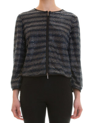Armani Collezioni: Tailored & Dinner online - Bead embellished textured jacket