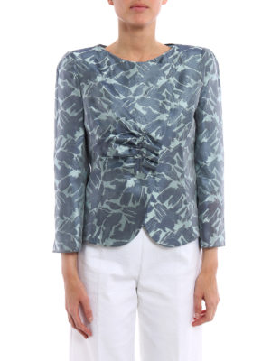 Armani Collezioni: Tailored & Dinner online - Jacquard silk jacket